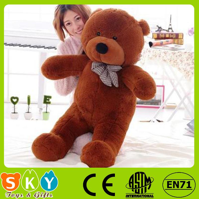 huge browncotton soft teddy bear toy 80cm(China (Mainland))