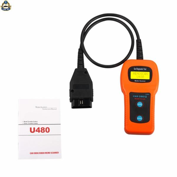 2015 Top-Rated High Quality U480 CAN-BUS OBD OBD2 Code Reader Scanner U480 Code Reader for VW U480 Scanner U480 Free Shipping<br><br>Aliexpress