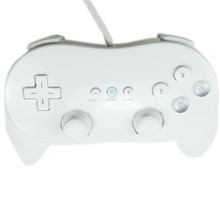 Free Shipping Classic Controller for Wii / Wii U White