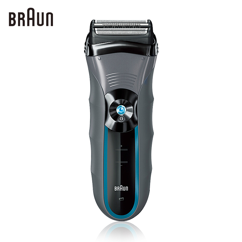 Brau Electric Shavers BNCruZer6 Electric Razors for Men Washable Reciprocating Blades Face Care Quick Charge(China (Mainland))