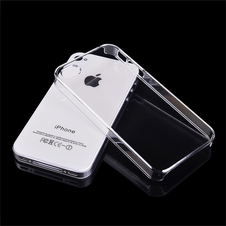 Crystal Transparent Clear Hard Case Apple iPhone 4S Cover Moblie Phone Protection Shell - ITECH TRADING STORE store
