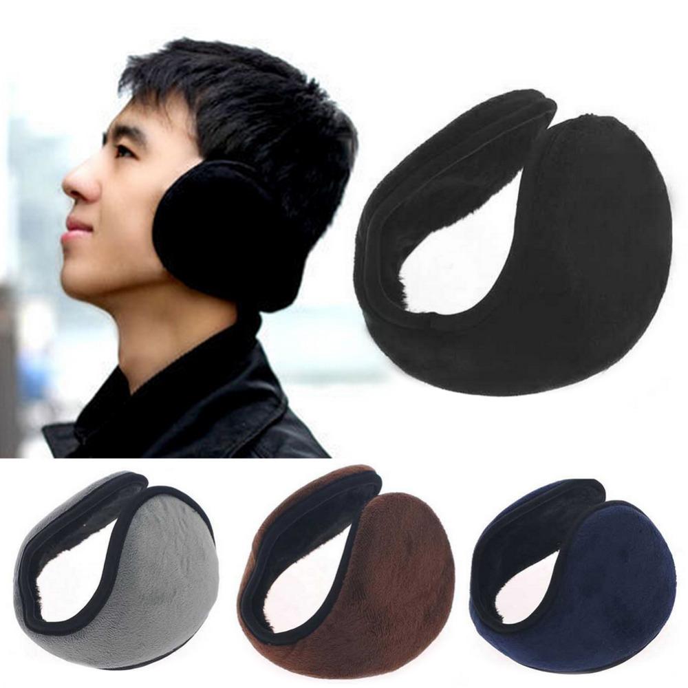 New Hot Winter Men And Women Warm Plush Ear Muffs Ear Warmers Earmuff 4 Colors Free Shipping C1(China (Mainland))
