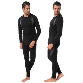 Мода осень зима быстро-сухие кальсоны люди спорта на открытом воздухе термобелье мужчин для на лыжах / / езда
