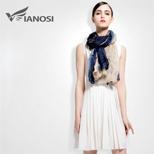 [VIANOSI] Fashion Scarves Woman Fold Gradient Color Design hijab High Quality Women Scarf Luxury Brand Shawls VA025(China (Mainland))
