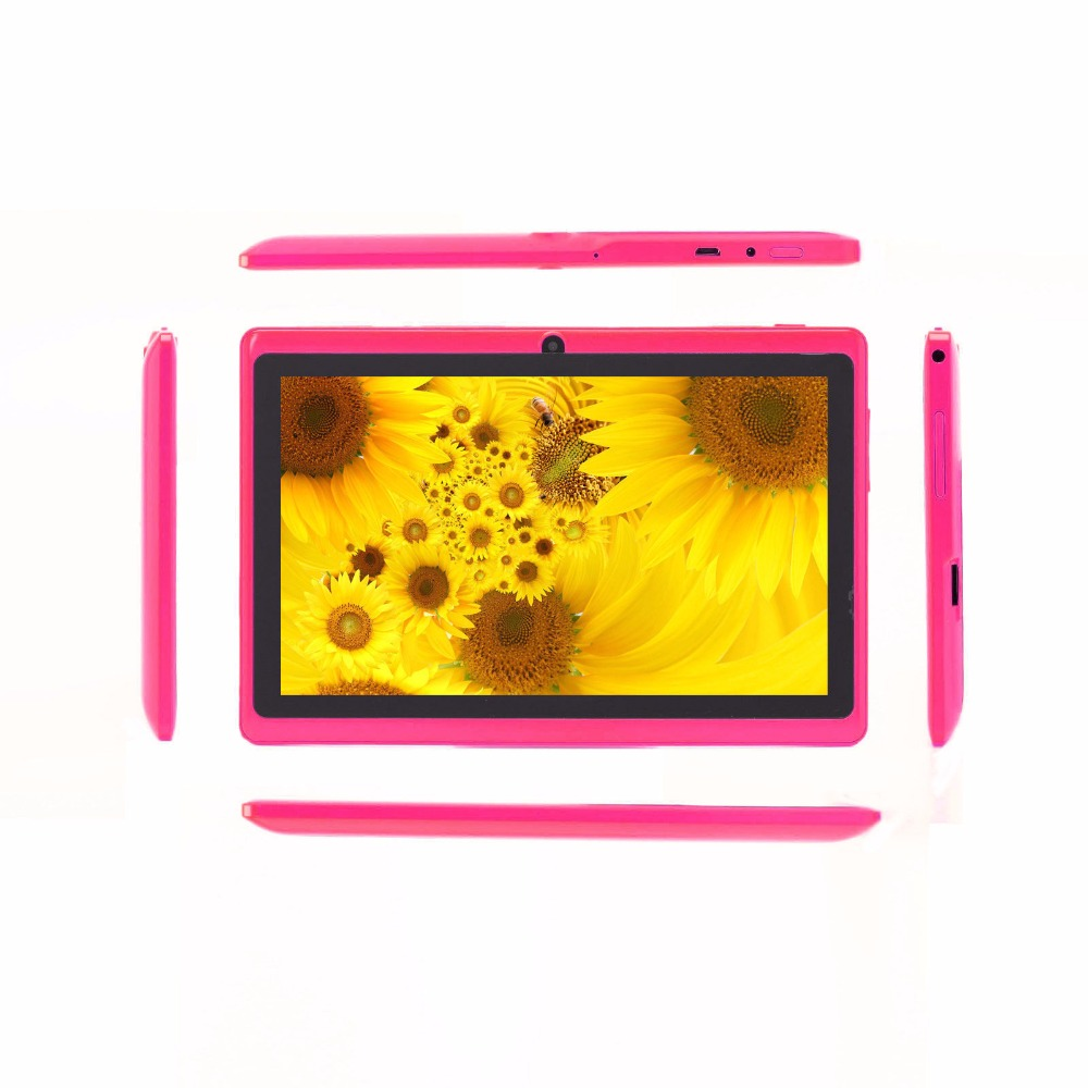 2015 NEW FREE  7 inch tablet PC 8G/512 android 4.4  wifi dual core android tablets HDMI Second webcam 3MP
