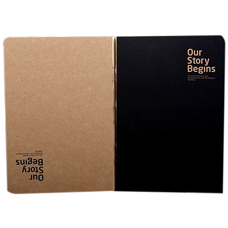 Our Story Begins Style Notebook Sketchbook White Paper Inside for Paiting Drawing Diary Journal(China (Mainland))