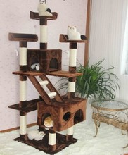 Large Multi-Level Cat Play Center