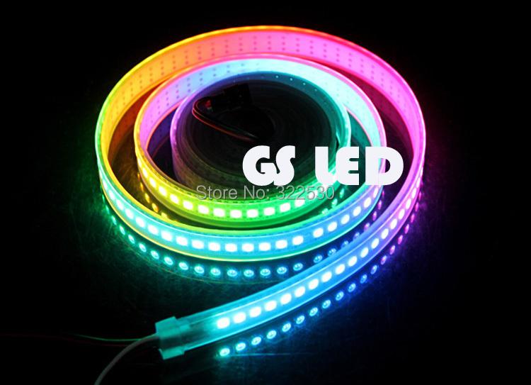 ws2812b IC addressable rgb led strip 144leds dc5v - Fa Yang LED store