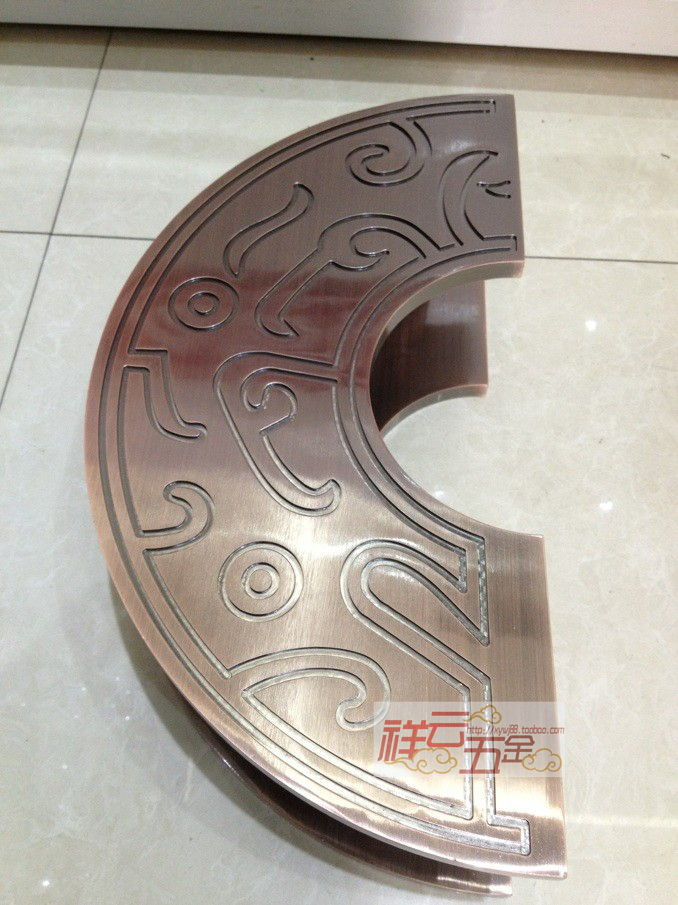 Cheap Chinese semi- circular door handle wooden antique glass large surface mounted<br><br>Aliexpress