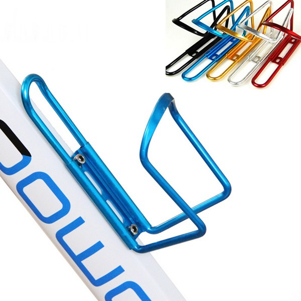 Portable Durable Sport Cycling Motorcycle Road Bike Water Drink Bottle Holder Cage Mountain Bicycle Aluminum Alloy Cups Can Rack(China (Mainland))