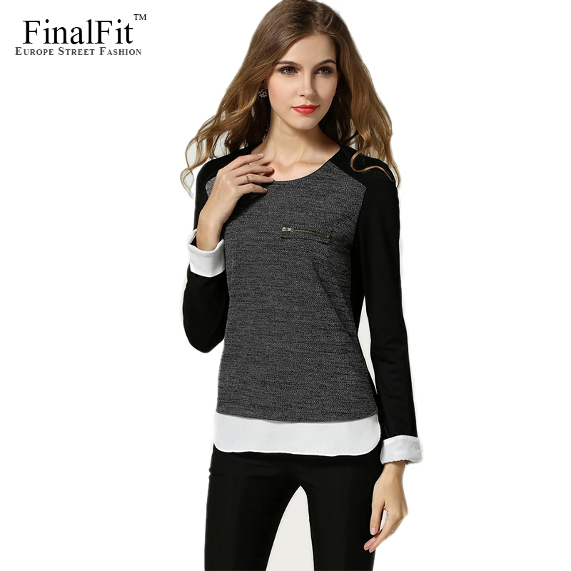 Buy FinalFit Knitted Pullover Women, Spring&Autumn Back ...