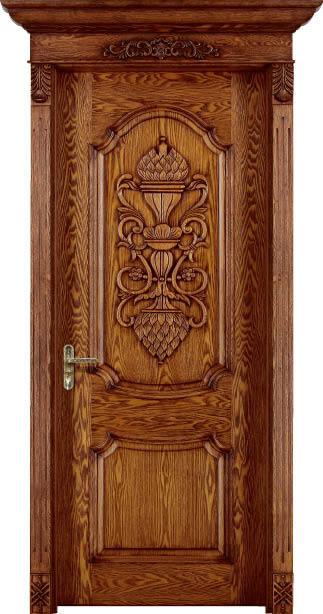 Compra puertas interiores online al por mayor de china for Precio puertas interior madera maciza