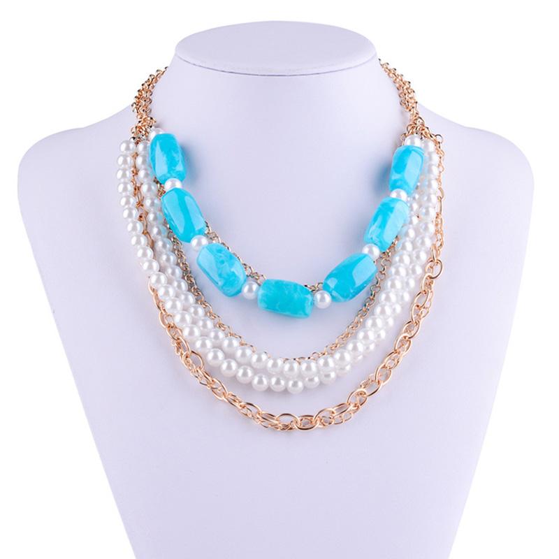 Long Necklace Paypal Jewelry Colgantes Mujer Moda Gargantilla Choker Necklace Female Necklace Collier Women Jewelry HM1399(China (Mainland))