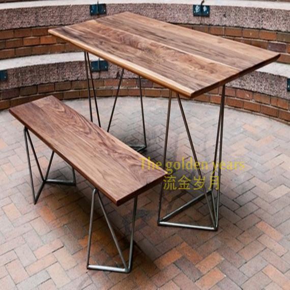 esstisch loft stil design inspiration f r. Black Bedroom Furniture Sets. Home Design Ideas