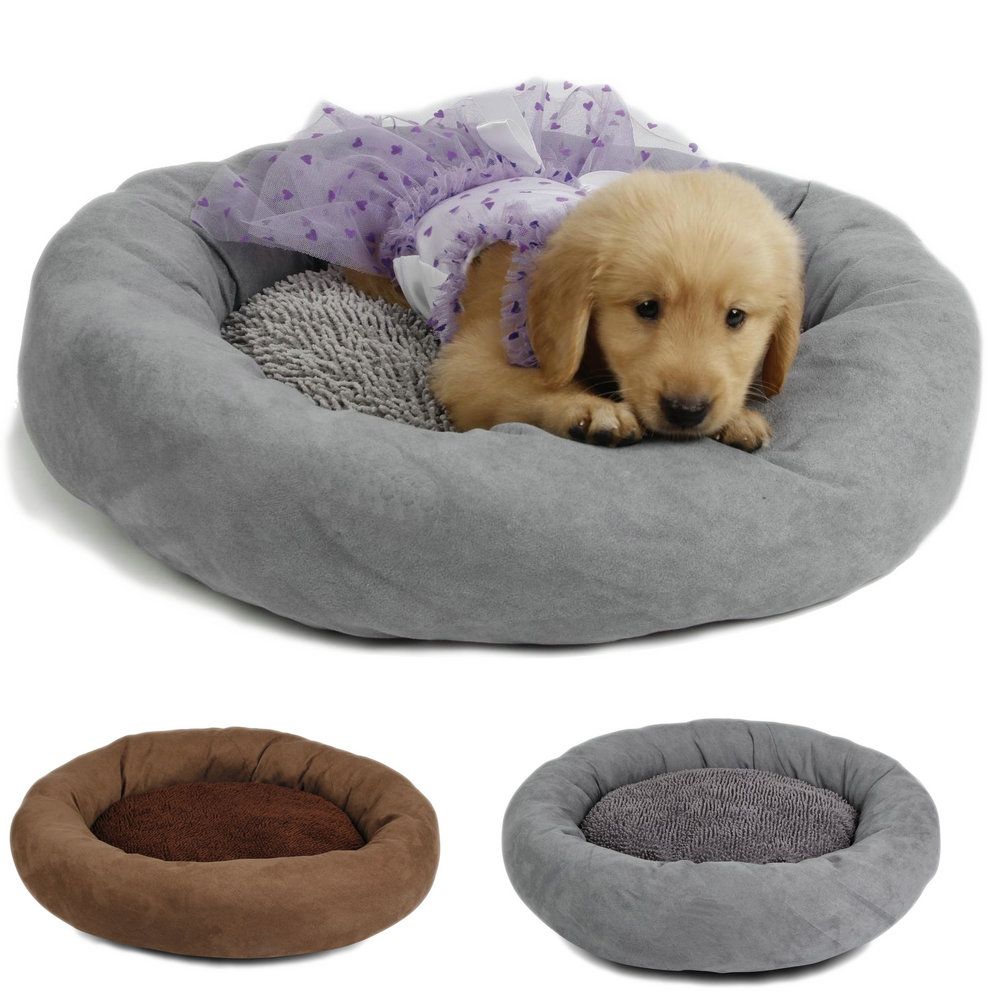 Free Shipping Dog Cat Bed Multifunction Pet Kennel Mat Sofa Puppy High Quality Fabric Cozy Pet Product Wholesalers 2 Colors(China (Mainland))