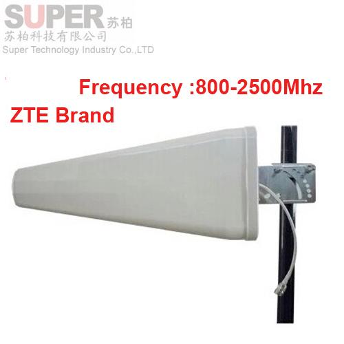 for Russia ZTE brand ZTE antenna 11dbi gain 806-2500Mhz LDP panel antenna,3g booster Logarithm Directional antenna wifi antenna(China (Mainland))
