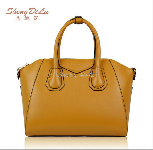 Fashion Hot European US Stylish Genuine Leather Women's Shoulder Bag  Tote Messenger Bags  Free Shipping