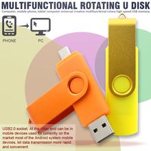 Real capacity USB Flash Drive 2G 4G 8G 16G pen Drive 32G micro usb Smart Phone thumb pendrive memory stick usb stick  free ship(China (Mainland))