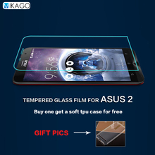 0.3mm 2.5D 9H Glass 5.5for Asus Zenfone 2 ZE551ML Case Tempered Glass Film Screen Protector For Asus Zenfone 2 ZE551ML Phone