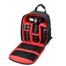 High quality Tigernu Red Waterproof multi-functional Digital DSLR Camera Video Bag Small SLR Camera Bag for Photographer(China (Mainland))