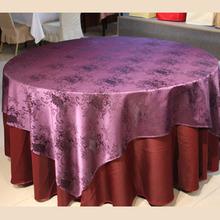 European hotel cloth, waterproof jacquard cloth, hotel tablecloths custom wholesale (China (Mainland))
