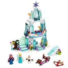 New 205pcs Anna & Kristoff's Sleigh Adventure 41066 Princess Series Building Block Minifigure Girls Toy Compatible With Lepin(China (Mainland))