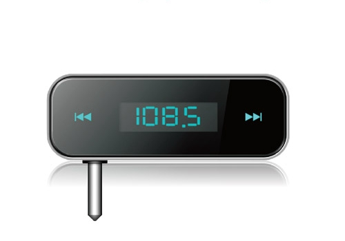 O produced the mini-F transmitter F 3.5 stereo FM transmitter(China (Mainland))