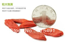 Hot sale !Free shipping Ningxia Goji berry individual packing Organic Dried Wolfberry/Barbury order 450G send 45g for free(China (Mainland))