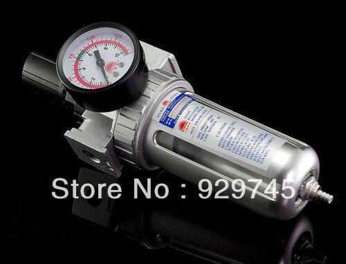 2pcs New Pneumatic Air Filter Regulator BSP 3/8'' SFR-300(China (Mainland))