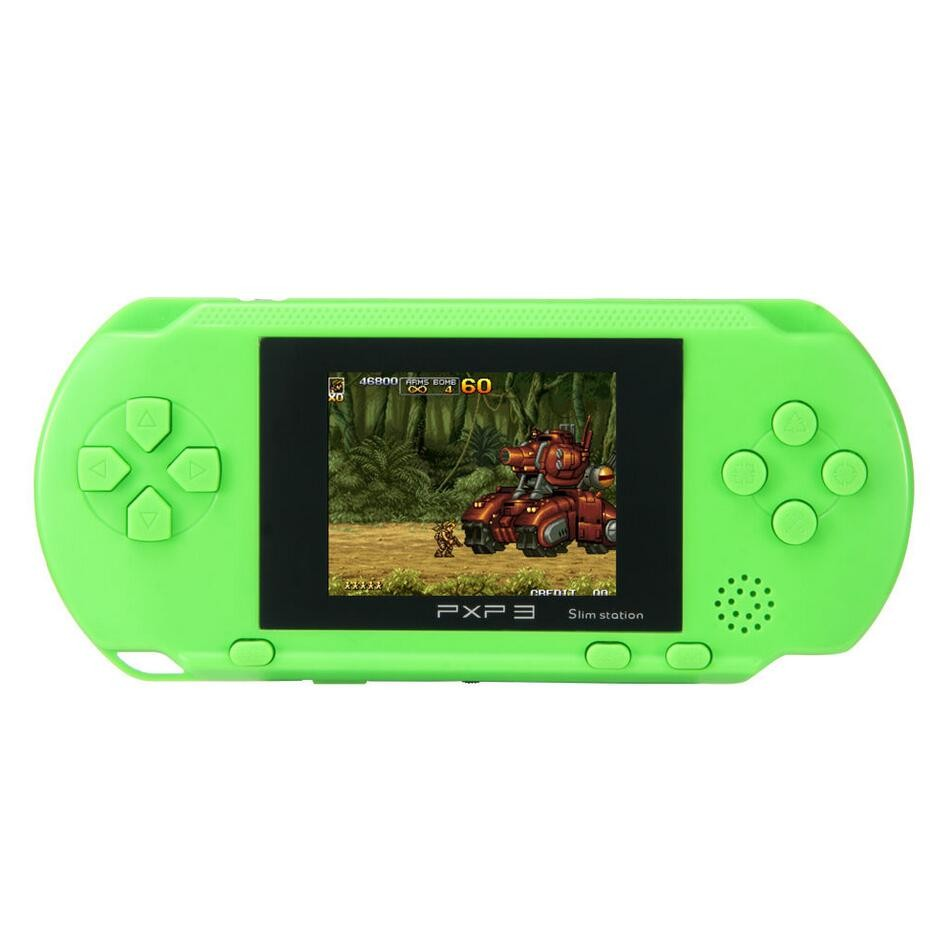 3 inch 16 Bit Portable PXP3 Handheld Video Game Players SLIM Games Retro Video Console with 160 kinds of Games + 2Game Card