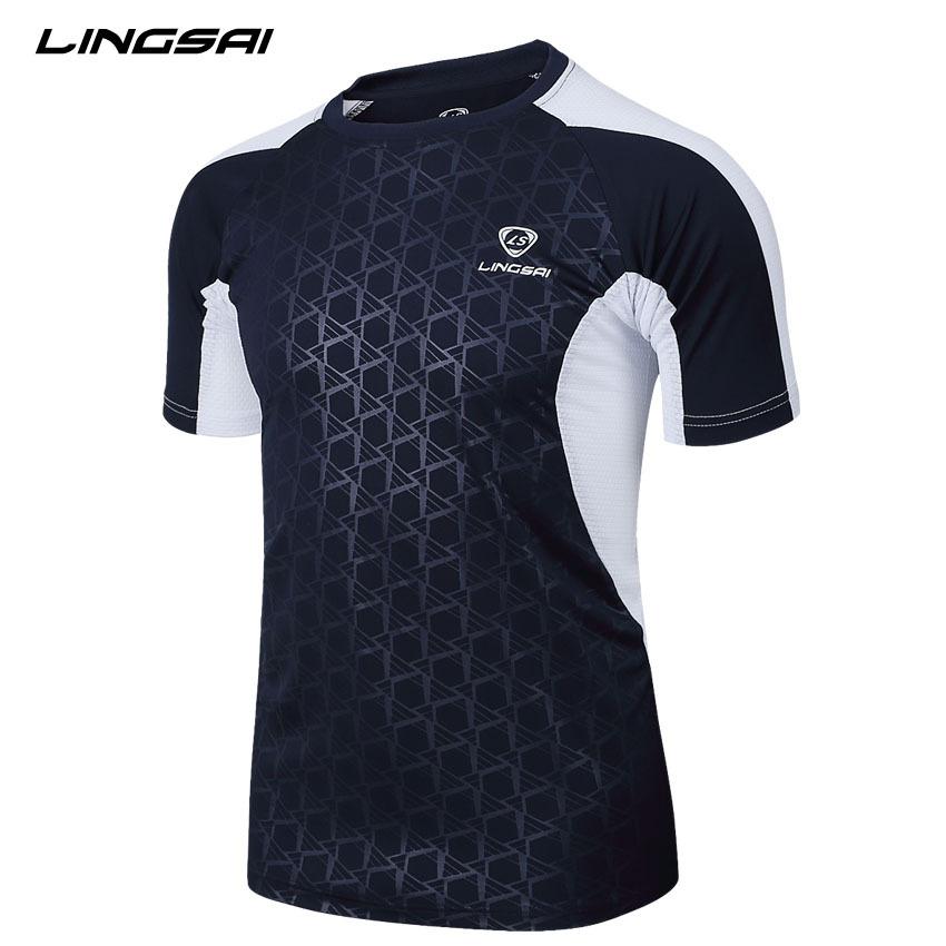 Summer Style Sport T Shirt Men LINGSAI 2015 New Brand Sales Camisas Quick Dry Slim Fit Running T-shirt Men's Clothing Camisetas(China (Mainland))