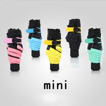 Creative Lightweight Pocket Umbrella Sun Umbrella Clear Umbrellas Mini Fashion Five Umbrella Folding Novelty Items