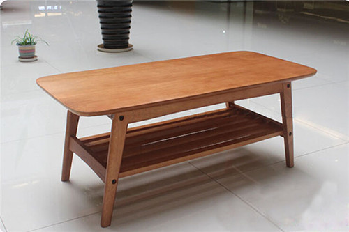 Modern Wood Table Solid Ash Natural Shelving Designs Living Room Furniture Laptop Table Japanese
