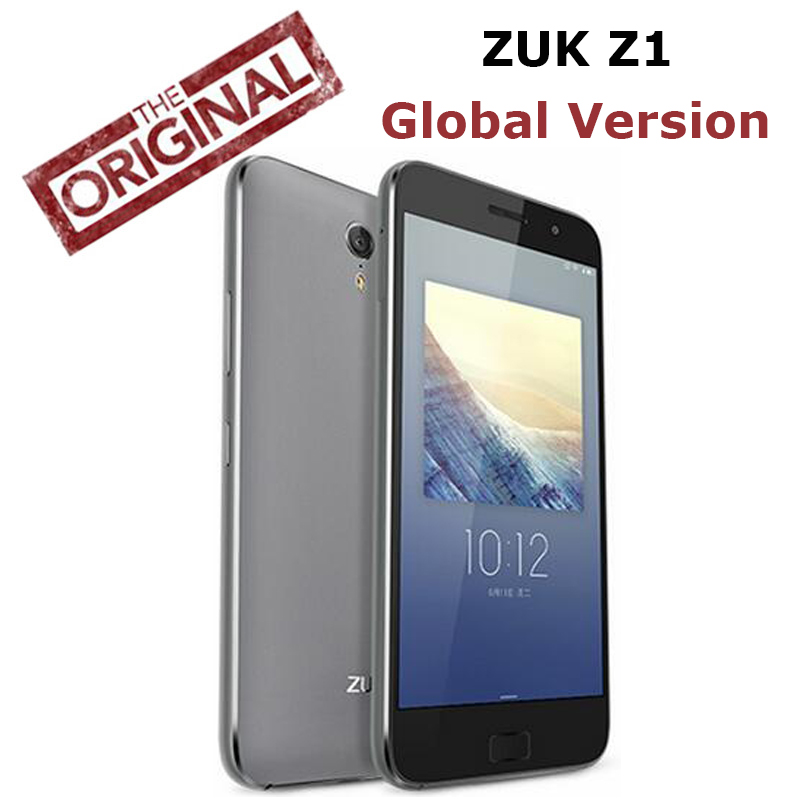 Original New Lenovo ZUK Z1 4G LTE Mobile phone Quad Core 2.5GHz 3G RAM 64G ROM 5.5'' 1920x1080P 13MP Cyanogen OS Global version(China (Mainland))