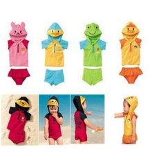 Lovely Animal Style Swimwear Baby Boys Girls Swimming Clothes Cute Babies Beachwear Bathing Suit