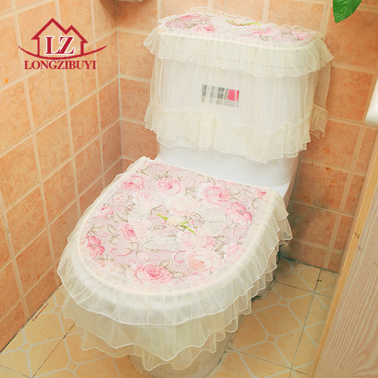 Warmer Toilet Washable Cloth Seat Cover Pads Lycra Use In O-shaped Flush Toilet(China (Mainland))