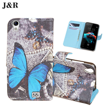 Buy Doogee HOMTOM HT16 Leather Cover Flip Case HOMTOM HT16 5.0 inch Wallet Case J&R Cute Painting Stand Mobile Phone Bags for $3.81 in AliExpress store