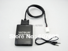 USB Car Stereo Adapter MP3 AUX  interface CD player Small 6+6 plug fit Toyota lexus scion 2003-2013(China (Mainland))