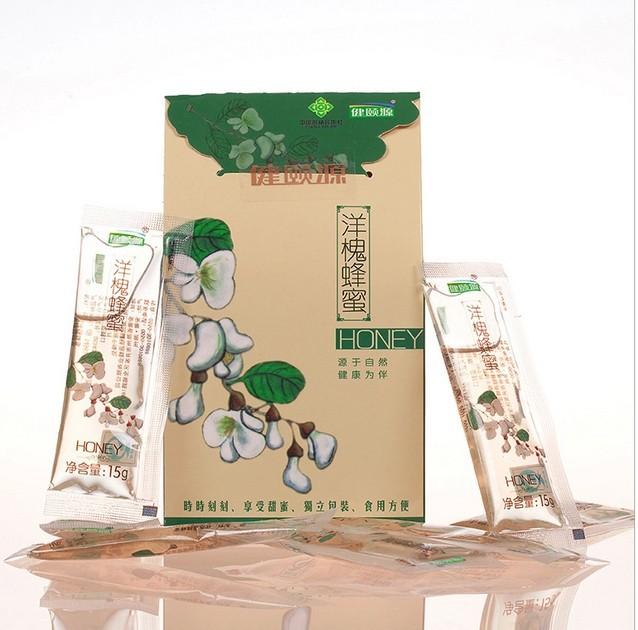 15g*20bag Black Locust honey pure natural honey free of any additive Locust free honey(China (Mainland))