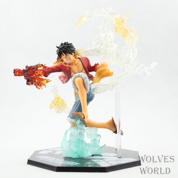 1pcs/set Luffy One Piece New World JapanMonkey D ZeroBattle Ver. Dead Or Alive Lucy Brinquedos PVC Boxed Limit Garage Edition(China (Mainland))