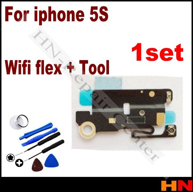 1set for Apple iPhone 5S Wifi Antenna Flex Cable Replacement Parts + repair open tool(China (Mainland))