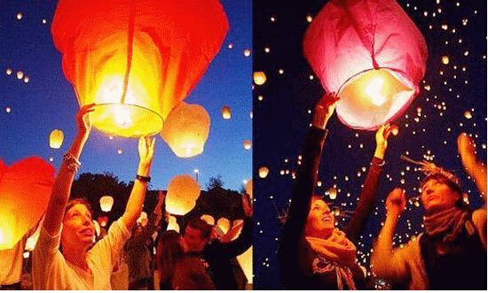 Free shipping,SKY Balloon Kongming wishing Lanterns,Flying Light Halloween Lights,Chinese sky Lantern Wholesale 300pcs/lot(China (Mainland))