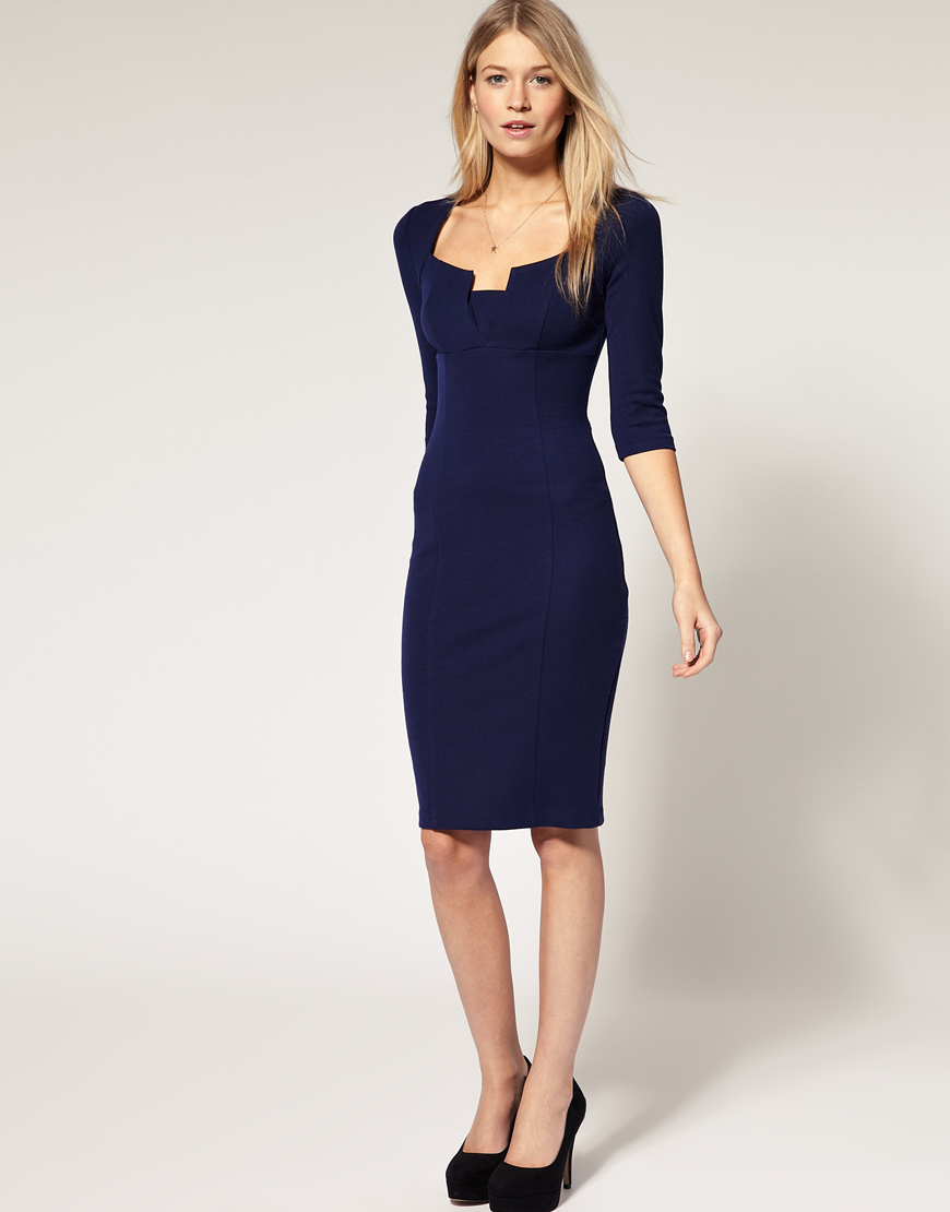 Navy Blue Dresses For Women