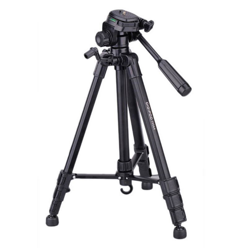 lightweight camera tripod stand 4 sections professional video dslr portable tripod for sony. Black Bedroom Furniture Sets. Home Design Ideas