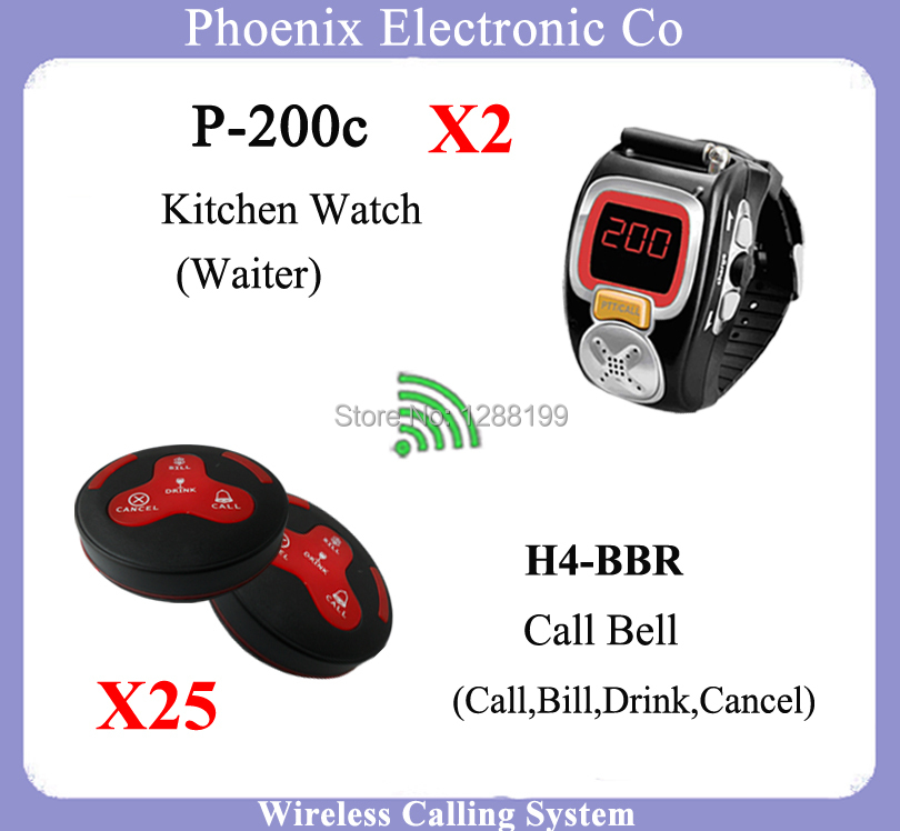 315mhz Restaurant Call System And Wireless Display p-200c Showing Service Number For Restaurant Equipment,DHL Free Shipping(China (Mainland))
