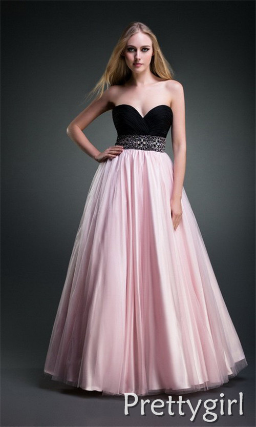 Long black and pink prom dresses | Long dress gallery