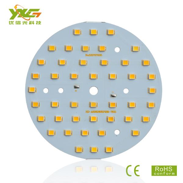 Free shipping 20pcs/lot Aluminum 2835 SMD 5C9B 9W LED pixel module, 3000k, 4500k, 6000k, wholesale(China (Mainland))
