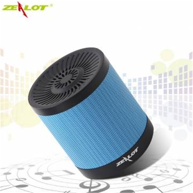 High Quality ZEALOT S5 2000mAh Portable Speaker Support TF Card AUX FM Radio Flash Disk Outdoor Wireless Bluetooth 4.0 Speaker
