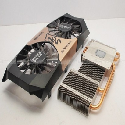 Palit geforce gtx 670 jetstream original fans PLA09215S12H