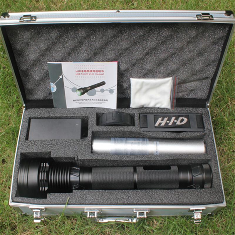 Ultra Bright 85W/65W/45W+SOS/Strobe HID Xenon Flashlight Torch 8500 Lumen Real 7800mAh Outdoor Hunting Camping Torch Flashlights(China (Mainland))